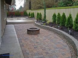 backyard paver ideas beautiful garden ideas paver backyard ideas