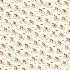 le bicycle wrapping paper 5 sheets rex london dotcomgiftshop