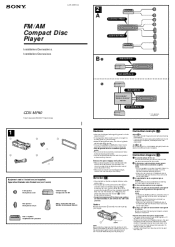 wiring diagram for sony xplode cdx mp40 sony cdx mp40 support