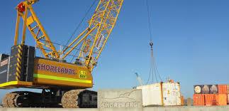 terex at 15 franna crane for hire at shorelands
