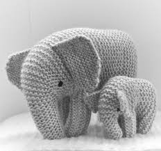 free knitting pattern for oliphaunt elephant toy this elephant