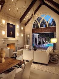 cathedral ceiling lighting ideas suggestions sloped ceiling chandelier vaulted ceiling lighting options best