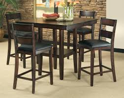 pub style dining room chairs furniture table set with storage and