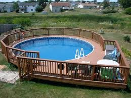 above ground pool wood decks pictures building a deck for your