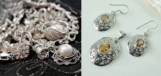 how to clean silver jewlery at home