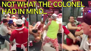 brits abroad start brawl in kfc in benidorm as desperate staff get