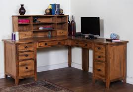 Pine Desk With Hutch Living Room Attractive L Shaped Desk With Hutch Home Office Which