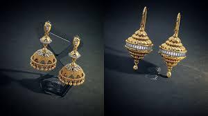 bluestone earrings gold jhumka earrings models from bluestone