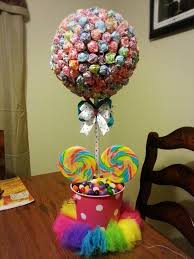 candyland theme candyland theme centerpiece diy lollipop tree make it work my