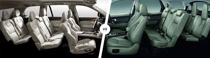 volvo xc90 vs land rover discovery sport suv carwow