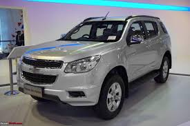 chevrolet trailblazer suv brought to india for r u0026d edit now