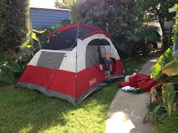 Tent In Backyard by Stay And Have A Cookie Blog Archive Backyard Camping And