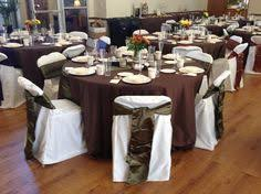 brown chair covers fall theme wedding brown chair covers w brown table cloths with