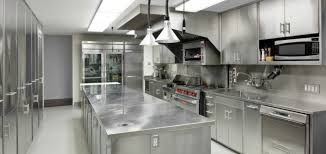 stainless steel kitchen island industrial kitchen ideas with modern stainless steel kitchen