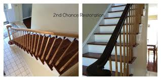 Gel Stain Banister Java Stained Bannister General Finishes Design Center