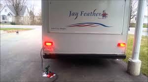 travel trailer led lights led upgrade on rv youtube