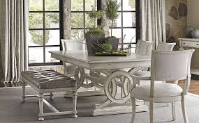 Settee At Dining Table Oyster Bay Lexington Home Brands