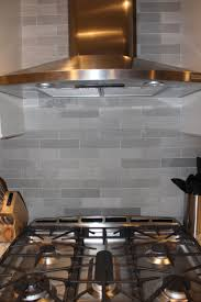 Kitchen Stone Backsplash Lady Grey Brushed Stone Backsplash Home Ideas Pinterest