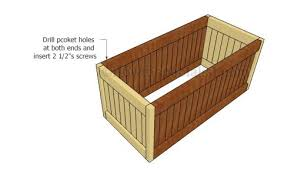 deck box plans howtospecialist how to build step by step diy