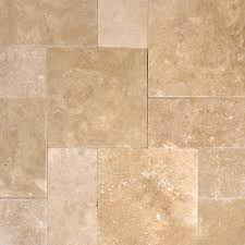 walnut travertine backsplash 24 in x 24 in tuscany walnut tumbled travertine paver tile each