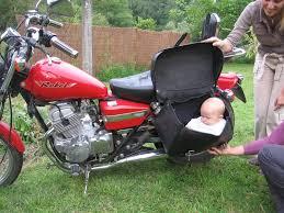 siège moto bébé de la moto a fait guit