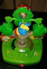 Fisher Price Activity Chair Fisher Rainforest High Chair Healthy Care Tray Toy Musical Tree