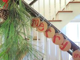 Banister Decorations Diy Christmas Decorations For Mantle U0026 Banister Fiskars