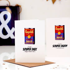 pop unique andy warhol style fathers day cards cool soup