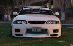 nissan onevia nissan gtr r33 stance tuning template gta5 mods com