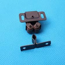 Kitchen Cabinet Door Latches Us Shipping 20pcs Double Roller Bronze Plate Door Latch Wardrobe