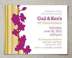 anniversary invitations anniversary invitations ideas