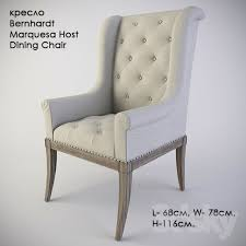 Host Dining Chairs 3d Models Arm Chair Chair Bernhardt Marquesa Host Dining Chair