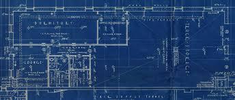 blueprint floor plan raleigh department museum station 2 floor plan 1936