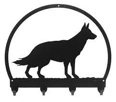 belgian sheepdog gifts amazon com german shepherd metal key chain hanger leash holder