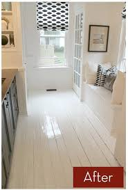 Wood Floor Paint Ideas How To Paint Prefinished Hardwood Floors How They Turned Out