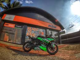 bentley kerala modified ktm rc200 u0027green viper u0027 from kerala u2013 modifiedx