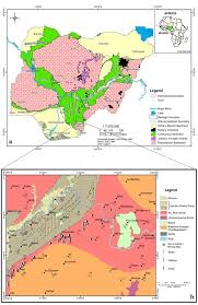 Map Of Nigeria Africa Structures And Petrology Of The Rocks Around Ekori Western Ikom