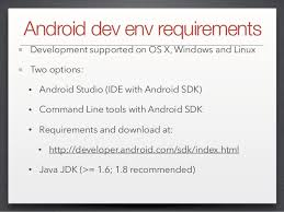 developer android sdk index html lap2 ios and android development environment setup