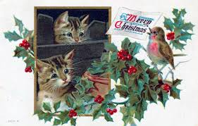 christmas postcards free vintage christmas cards in the domain free vintage