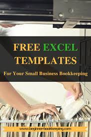 free excel bookkeeping templates business free and organizations