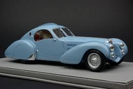 bugatti type 1 diecast model ilario 1 18 bugatti type 57s atlantic grey 1936