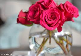 Putting Roses In A Vase How To Arrange Long Stemmed Roses In A Round Vase