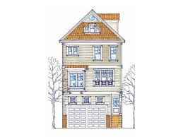 narrow house floor plans 87 best coastal house plans images on