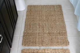 Jute Bath Mat Diy Bathroom