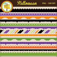 halloween borders halloween clipart invitations card