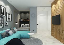 Interior Design For Small Apartments 4 Charming Blue Accent Apartments With Compact Layouts