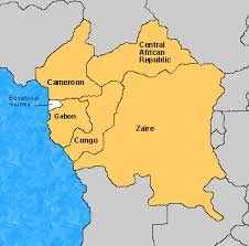 gabon in world map central africa world guide libguides at appalachian