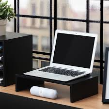 fitueyes computer monitor riser 16 7 inch monitor laptop stand