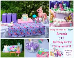 my pony party ideas sew can do our more less to craft my pony party
