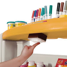 Step2 Deluxe Art Desk With Splat Mat 100 Step2 Art Easel Desk Toys R Us Guidecraft Wooden Floor